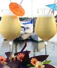 Coconut Water makes a FABULOUS Skinny Pina Colada. Get the skinny recipe here and find out why you are crazy for not drinking coconut water!