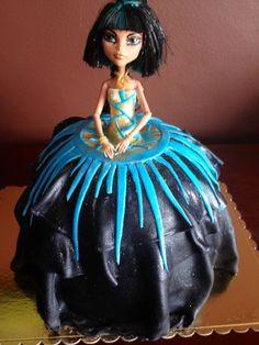 Cleo de Nile Monster High cake — Children's Birthday Cakes