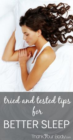 Not getting enough sleep? Here are some simple and cost effective tips for better sleep.