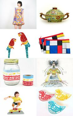 Very hot today  by mira (pinki) krispil on Etsy--Pinned with TreasuryPin.com