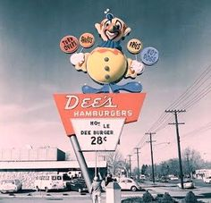 Dee's Hamburgers A Utah based fast food chain that closed in the late 1970s