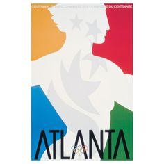 Atlanta 1996 Olympic poster.