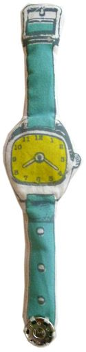 Fabric watch. What a toy!