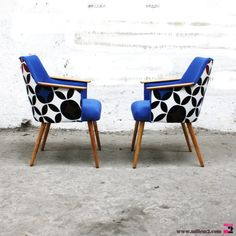 32 Best Ideas For Vintage Design Chair Upholstery Funky Chairs, Modern Chairs, Modern Armchair, Diy Sofa, Diy Chair, Ikea Chair, Chair Upholstery, Upholstered Chairs, Chair Cushions