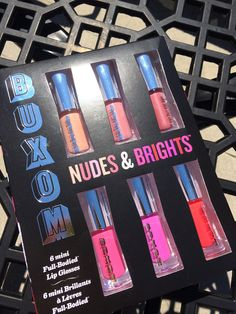 Buxom Nudes & Brights Lip Gloss Collection - the PERFECT set of lip glosses!!!