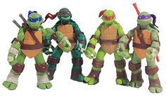 NuoYa001 TMNT Teenage Mutant Ninja Turtles Classic Collection 12cm Figure 4pcs Set