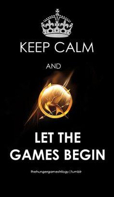 Hunger Games keep calm