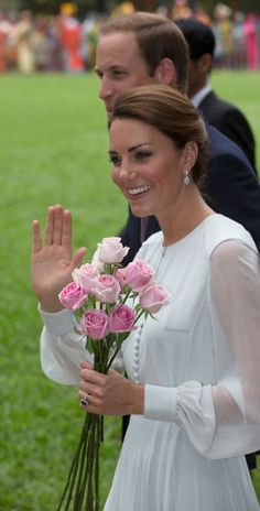 Catherine, Duchess of Cambridge attends a cultural event on day 4 of Prince William, Duke of Cambridge and Catherine, Duchess of Cambridge's Diamond Jubilee Tour of the Far East on September 14, 2012 in Kuala Lumpur, Malaysia.   (September 12, 2012 - Source: Pool/Getty Images AsiaPac