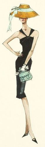 Robert Best.  fashion illustration