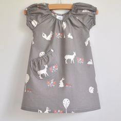 Meadow Friends Beachcomber Girl's Dress - The Smallest Tribe