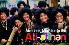Afro-Look. More FUN in the Philippines!