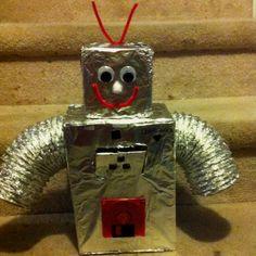 Robot Valentine Box