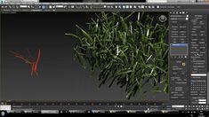 making of grass in corona-renderer