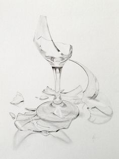 drawings of broken glass - Google Search