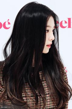 Fans think this is Irene's most attractive feature — Koreaboo Red Velvet アイリン, Red Velvet Irene, Park Sooyoung, Seulgi, Korean Beauty, Asian Beauty, Black Hair Kpop, Valo Ville, The Most Beautiful Girl