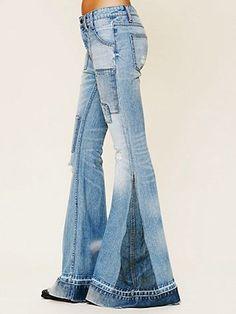 denim bell bottom pants http://vivaglammagazine.com/fashion/fashion-tips/3705-trendy-fancy-pants-for-women.html