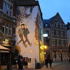 Bruxelles - parcours BD dans la ville