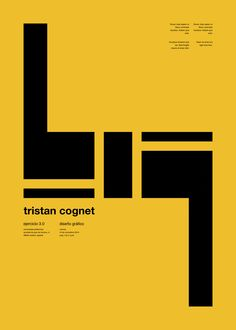 Graphic and geometric poster or book cover