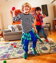 Bring the fun of snowy weather indoors with a zany (and energetic!) game fit for the whole family.