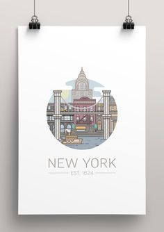 Circled Cities on Behance