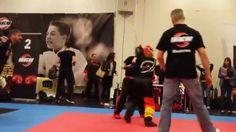 Fibo Kwon Cup 11.4.2015 LK Women -55 kg Eva Kömle vs. Styliani Liakou 1/2 - YouTube