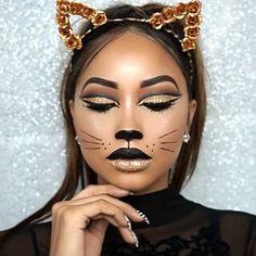 Este gatinho. | 20 maquiagens lindas para experimentar neste Halloween