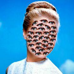 Collages et GIFs animés – Les nouvelles créations étranges de Matthieu Bourel