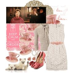 44/70 Dolores Umbridge, created by girloverboard on Polyvore