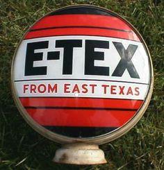 E-Tex gas pump globe