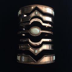 Bracelet 7 Vies plaque or rose Semainier bijoux Exclusivité BY LiS