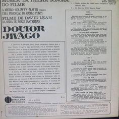 lp - maurice jarre - doutor jivago - vinil raro