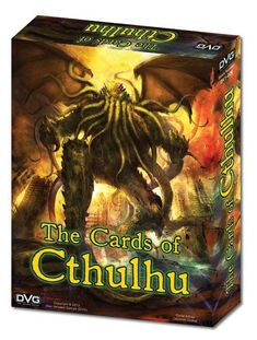 Based on H.P. Lovecraft's Cthulhu mythos, in this Kickstarter card game you select an Investigator, and battle the invading Cthulhu Minions and Horrors while building up a team of Followers to help you.  This 1-4 player card/dice game involves combating various monsters from the Cthulhu universe separated into Minor, Major and Unspeakable Horror cards across 4 different Cult boards. Along the way, your character can bring followers with special abilities into play that may or or may ...