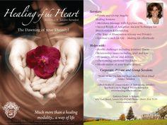 Aug 23 - 30, 2015 Healing of the Heart with Sandra Saradesi