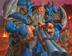 Card Name: Big Game Hunter Artist: Chris Seaman