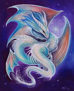 Starlight Dragon Spirit by Artist Nico Niemi