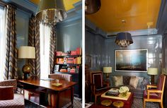 Love the Walls and Colour scheme in this room