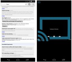 Stream embedded web videos to Chromecast with Chrome Beta for Android