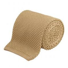 1755 Knitted Silk Tie Yellow