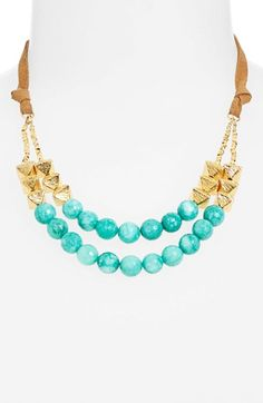Nordstrom+'Audrey'+Beaded+Necklace+available+at+#Nordstrom