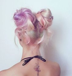 Lovely hair color. Pastel is my favorite! #haircolor #hairdo