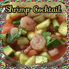 Here's a shrimp coctail #recipe with a twist ... different and delicious!
