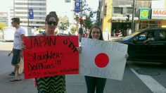 #Montreal animal activist take action on Japan Dolphins Day 2013 http://www.examiner.com/article/montreal-animal-activist-take-action-on-japan-dolphins-day-2013 … #jdd2013