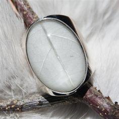 4 Seasons ring - Winter (silver/resin)  $125