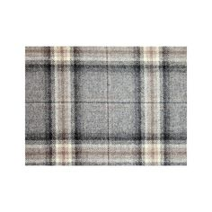 A grey, taupe and black large check tartan wofabric, suitable for curtains and general domestic upholstery. Chair Fabric, Wool Fabric, Osborne And Little, Batik Dress, Tartan, Taupe, Living Spaces, Upholstery, Curtains