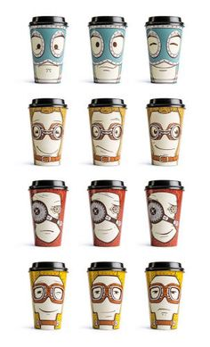 5 | This Cute Coffee Cup Goes From Happy To Mad With A Simple Twist | Co.Design | business + design