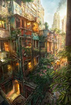 Urban Jungle by Jonas De Ro