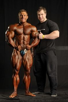 Flex Lewis and Milan Sadek