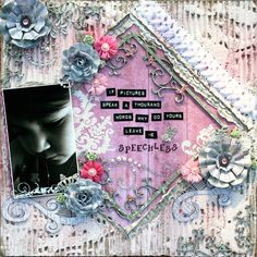 Hello my fellow crafters! Today I have a shabby layout to share that was created with a combination of Donna Salazar's Antiquities  and Sp...