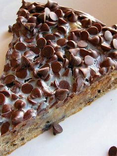 Hershey Chewy Brownie Pie -- Ingredients: 6oz. Hershey's Cookies 'n' Creme Chocolate Candy Bar, ½ cup sugar, ½ cup butter, 1 cup flour, ½ teaspoon baking powder, Pinch of salt, 7oz. sweetened condensed milk, ¾ cup mini semi sweet chocolate chips -- 6oz. Hershey's Cookies 'n' Creme Chocolate Candy Bar, ½ cup sugar, ½ cup butter -- Melt over med low heat until melted.  Whisk in 2 lightly beaten eggs and ½ teaspoon vanilla.
