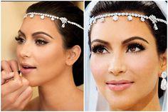 maquiagem casamento kim kardashian - Pesquisa Google